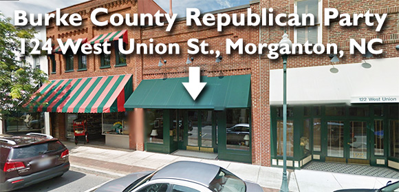 Burke County Republican Party Headquarters, Morganton, NC